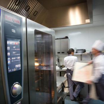 Rational combi ovens