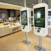 McDonalds order kiosks