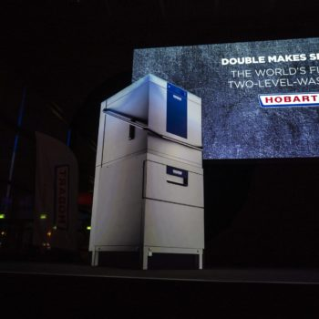 Hobart's Two Level Washer on Stage at MEETING POINT FUTURE 2019