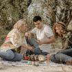 students picnic