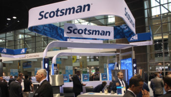 Scotsman stand, NRA Show 2019