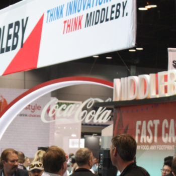 Middleby stand, NRA Show 2019